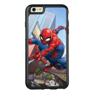 Spider-Man Web Slinging By Train OtterBox iPhone 6/6s Plus Case