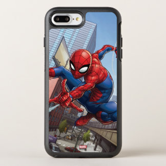 Spider-Man Web Slinging By Train OtterBox Symmetry iPhone 8 Plus/7 Plus Case