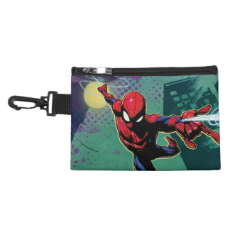 Spider-Man Web Slinging From Above Accessory Bag