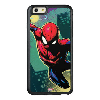 Spider-Man Web Slinging From Above OtterBox iPhone 6/6s Plus Case