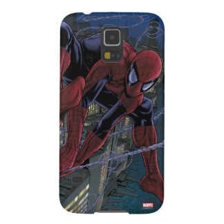 Spider-Man Web Slinging From Daily Bugle Galaxy S5 Covers