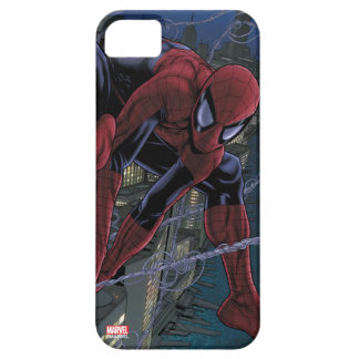 Spider-Man Web Slinging From Daily Bugle iPhone 5 Case