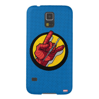 Spider-Man Web Slinging Hand Icon Galaxy S5 Cases