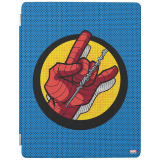 Spider-Man Web Slinging Hand Icon iPad Cover