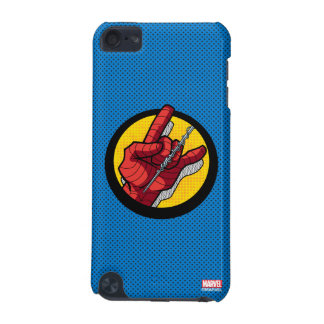 Spider-Man Web Slinging Hand Icon iPod Touch 5G Case