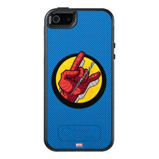 Spider-Man Web Slinging Hand Icon OtterBox iPhone 5/5s/SE Case