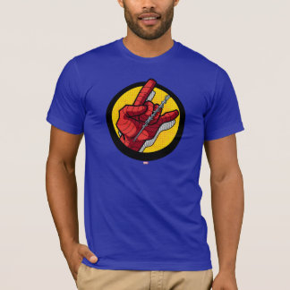 Spider-Man Web Slinging Hand Icon T-Shirt