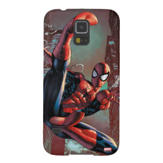Spider-Man Web Slinging In City Marker Drawing Galaxy S5 Case