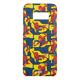 Spider-Man Web Slinging Panel Pattern Case-Mate Samsung Galaxy S8 Case