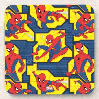 Spider-Man Web Slinging Panel Pattern Coaster
