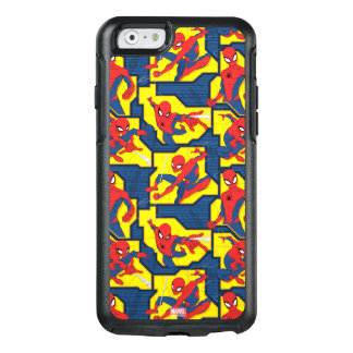 Spider-Man Web Slinging Panel Pattern OtterBox iPhone 6/6s Case