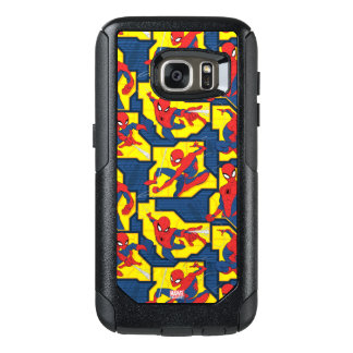 Spider-Man Web Slinging Panel Pattern OtterBox Samsung Galaxy S7 Case