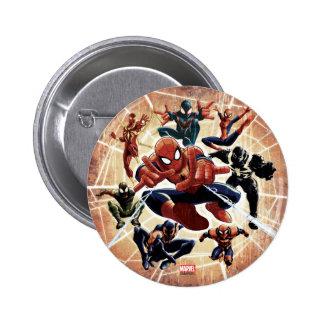 Spider-Man Web Warriors Attack 2 Inch Round Button