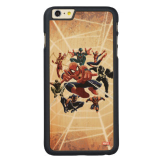 Spider-Man Web Warriors Attack Carved® Maple iPhone 6 Plus Case