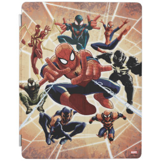 Spider-Man Web Warriors Attack iPad Cover
