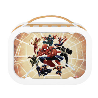 Spider-Man Web Warriors Attack Lunch Boxes