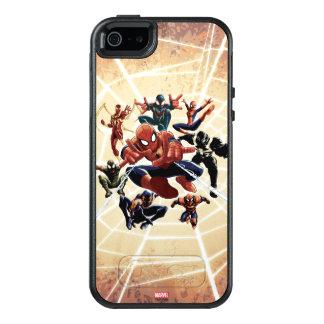 Spider-Man Web Warriors Attack OtterBox iPhone 5/5s/SE Case
