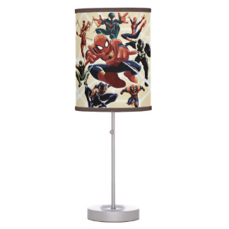 Spider-Man Web Warriors Attack Table Lamp