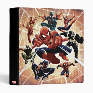 Spider-Man Web Warriors Attack Vinyl Binder