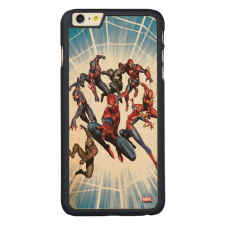 Spider-Man Web Warriors Gallery Art Carved® Maple iPhone 6 Plus Case