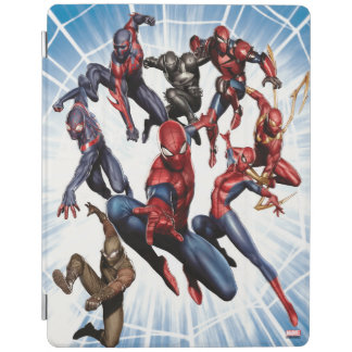 Spider-Man Web Warriors Gallery Art iPad Cover