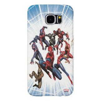Spider-Man Web Warriors Gallery Art Samsung Galaxy S6 Cases