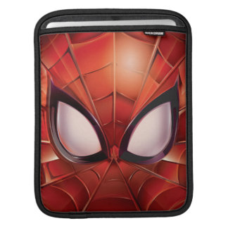 Spider-Man Webbed Mask iPad Sleeve