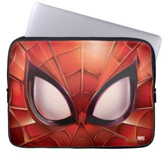 Spider-Man Webbed Mask Laptop Sleeve