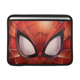 Spider-Man Webbed Mask MacBook Sleeve