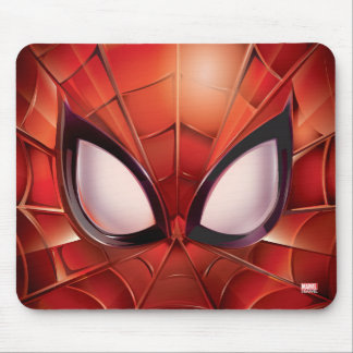 Spider-Man Webbed Mask Mouse Pad