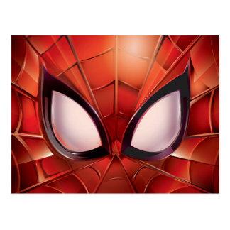 Spider-Man Webbed Mask Postcard