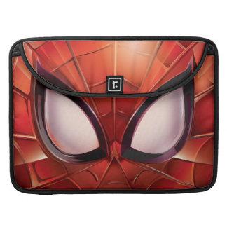 Spider-Man Webbed Mask Sleeve For MacBooks