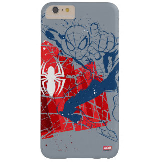 Spider-Man Worn Graphic Barely There iPhone 6 Plus Case