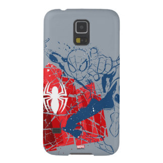 Spider-Man Worn Graphic Case For Galaxy S5