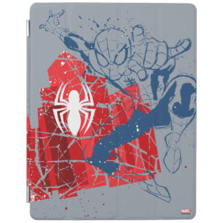 Spider-Man Worn Graphic iPad Cover