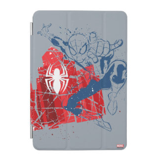 Spider-Man Worn Graphic iPad Mini Cover