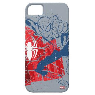 Spider-Man Worn Graphic iPhone 5 Case