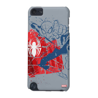 Spider-Man Worn Graphic iPod Touch 5G Cover