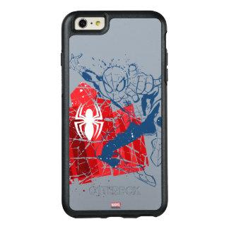 Spider-Man Worn Graphic OtterBox iPhone 6/6s Plus Case