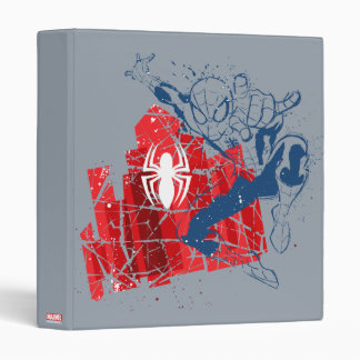 Spider-Man Worn Graphic Vinyl Binders