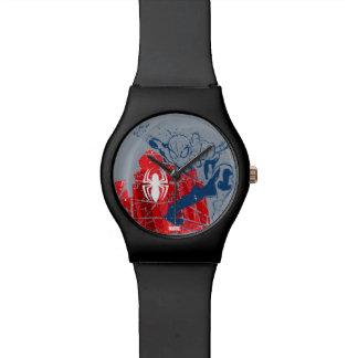 Spider-Man Worn Graphic Wristwatches