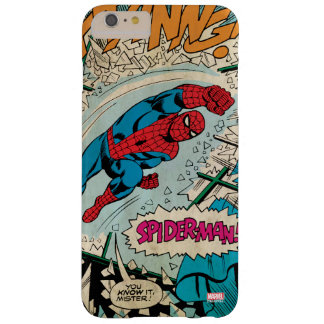 "Spider-Man ""You Know It Mister!"" Barely There iPhone 6 Plus Case"