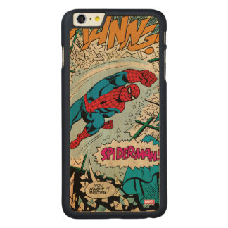 "Spider-Man ""You Know It Mister!"" Carved Maple iPhone 6 Plus Case"