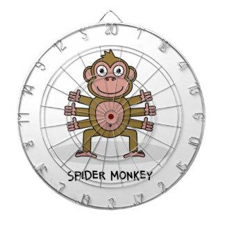Spider Monkey Dartboard
