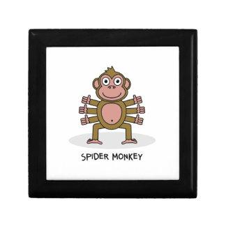 Spider Monkey Gift Box