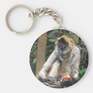 Spider Monkey Keychain