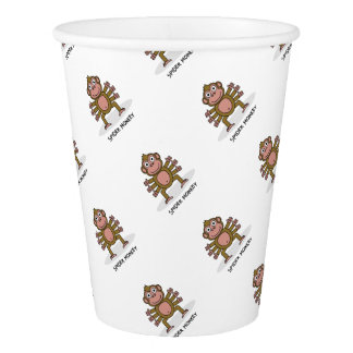 Spider Monkey Paper Cup