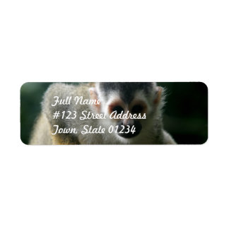 Spider Monkey Return Address Label