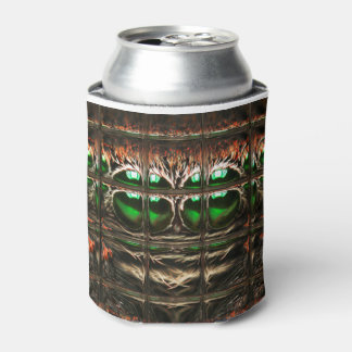 Spider mosaic can cooler