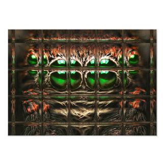 Spider mosaic card